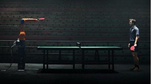 机器人VS世界冠军 3月11日KUKA将举办乒乓球比赛