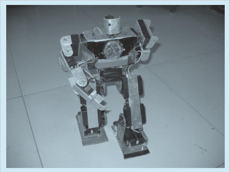 仿人型机器人控制系统设计的几个问题