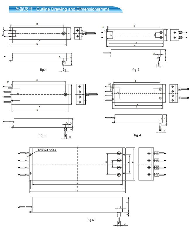 坚力 屏蔽房用超低泄露C5系列滤波器