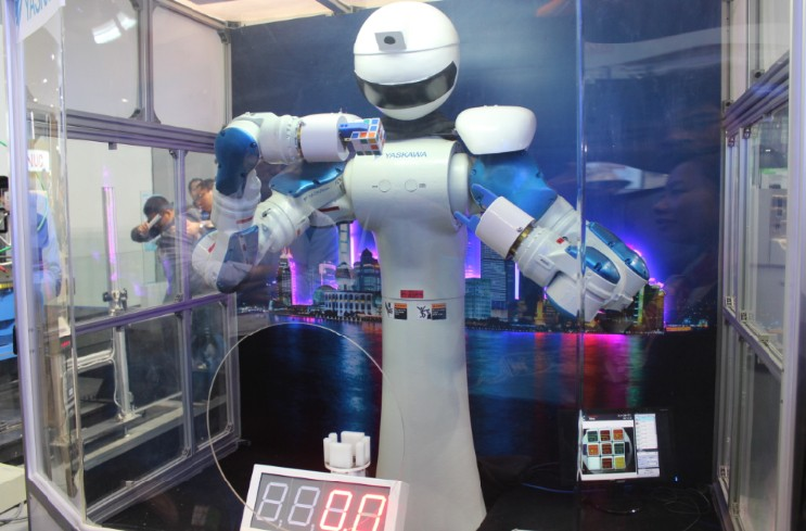 <strong>2014上海工博会机器人展馆大饱眼福</strong>