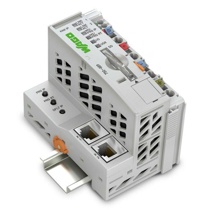 万可电子楼宇自动化的全能型产品--KNX IP控制器