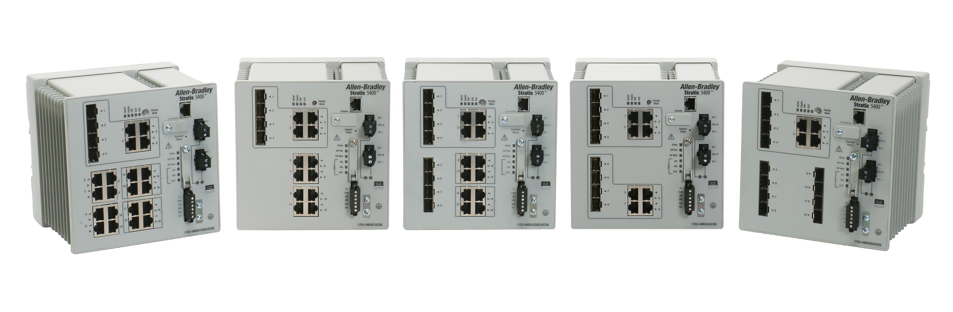 Stratix 5400 工业交换机