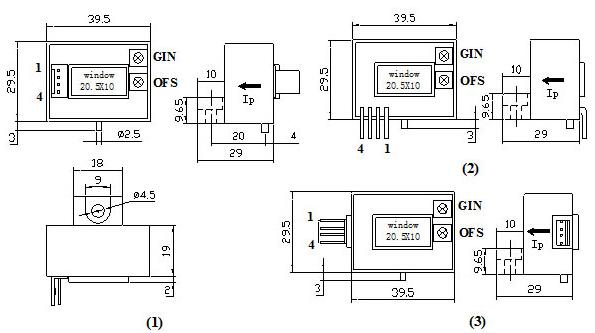 cs600b系列霍尔电流传感器