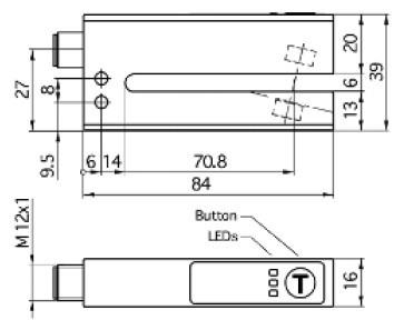 德国microsonic---esf系列标签/接合点检测超声波传感器