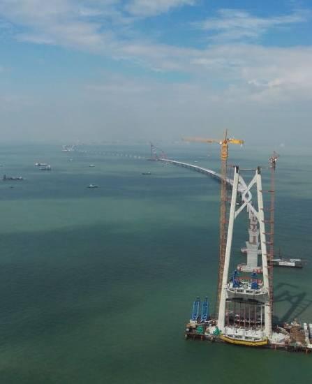 伟创变频器助力港珠澳大桥工程建设
