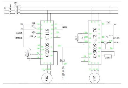 吉泰科gk600s变频器在钢帘线水箱式拉丝机上的应用