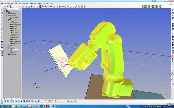 图一CAD布局文件导入功(埃夫特)cad裁剪轨迹视口图片