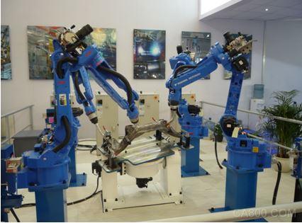安川首钢携国内领先的机器人焊接技术