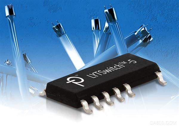 Power Integrations推出全新高效率LYTSwitch-5 IC,可支持多种LED驱动器拓扑结构