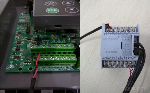 深川sf1n系列plc与g7系列变频器通讯控制实例
