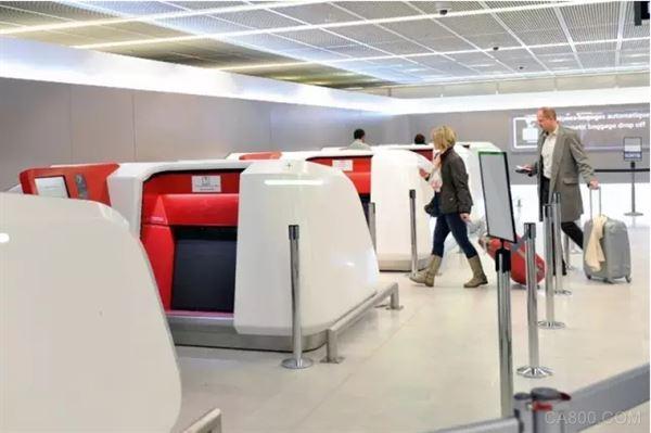 行李托运,航空,SICK传感器