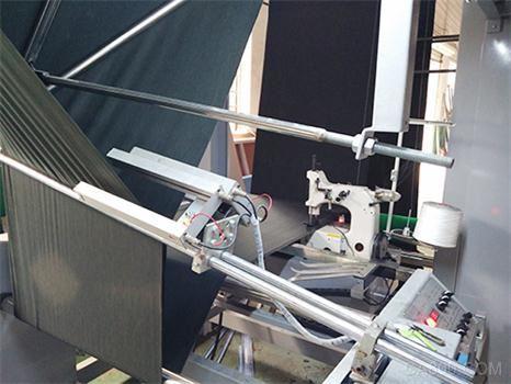 四方 PLC 伺服驱动器 变频器 自动对折缝边机 纺织机械厂