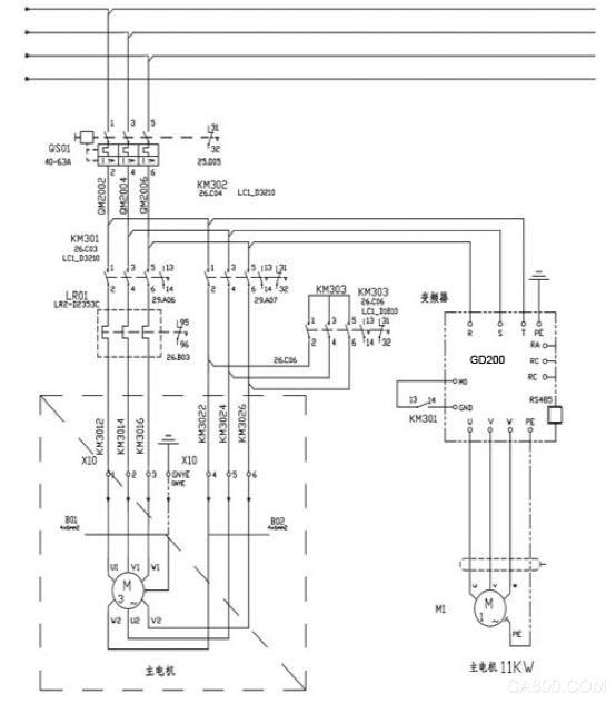 英威腾goodrive200变频器在倍捻机上的应用