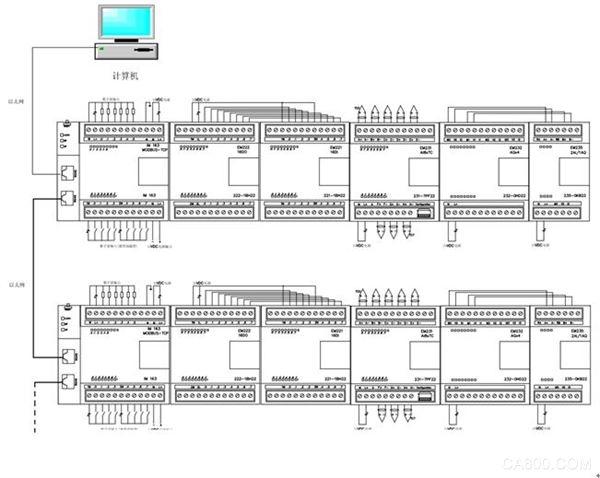 奥越信 IM163Modbus 自动化控制 从站接口模块 通讯