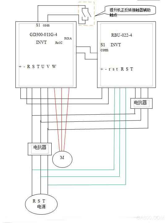 英威腾GD300变频器 行车 节能改造