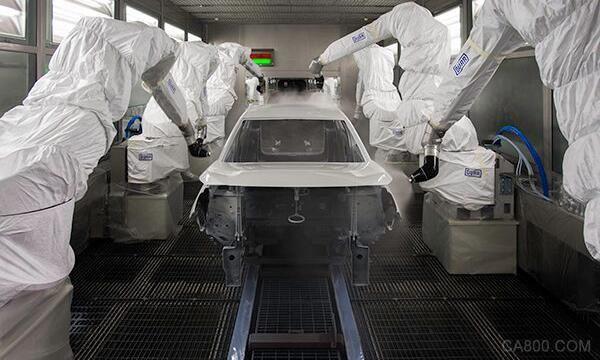 汽车 冲压 焊装 机器人 智能制造