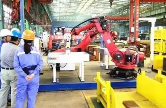 机器人 焊接 数据采集 船舶