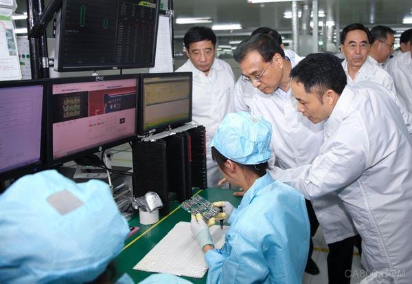 李克强 激光 中国制造