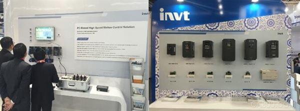 同时,随着新能源的发展,英威腾也向现场观众展示了光伏水泵逆变器Goodrive100-PV、光伏储能一体机新品以及UPS解决方案为代表的新能源系列产品。其中,英威腾新上市的光伏水泵逆变器获得了DirectIndustry于展会期间举办的i-NOVO奖项中的科技类提名奖。