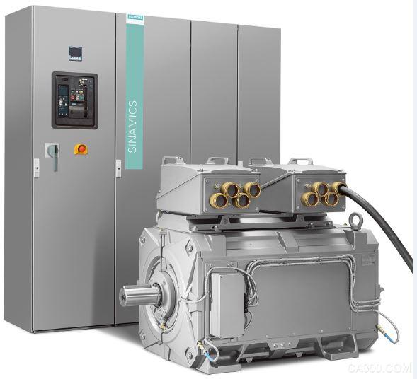 西门子 集成传动系统 共享开放式冷却回路