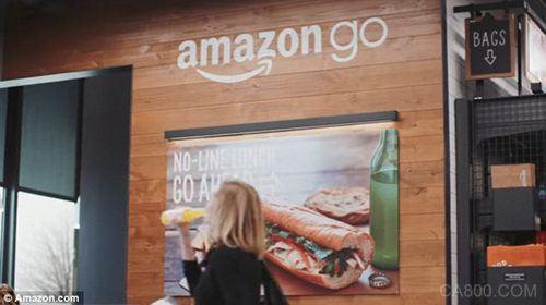亚马逊将开设大型自动化超市 机器人自动取货