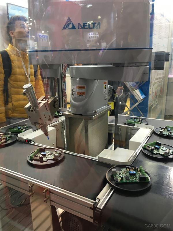 机器人 台达 自动化