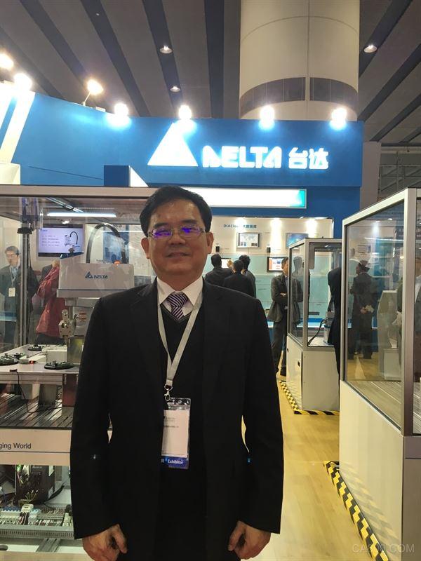 中达机器人产品开发处产品经理江振民