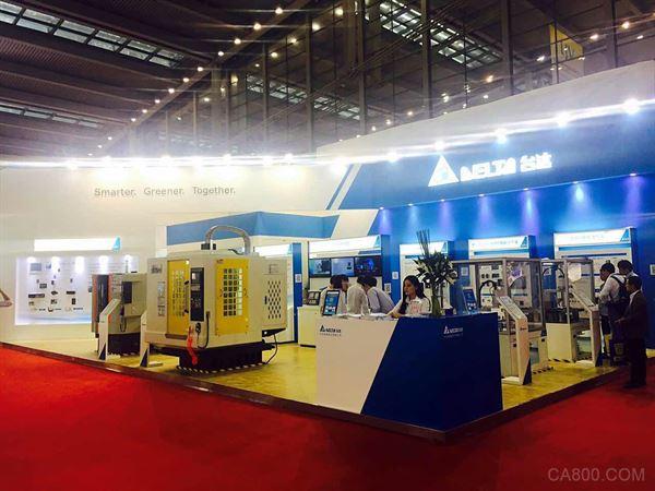 台达,数字化机床整合解决方案,机械制造工业展览会,CNC