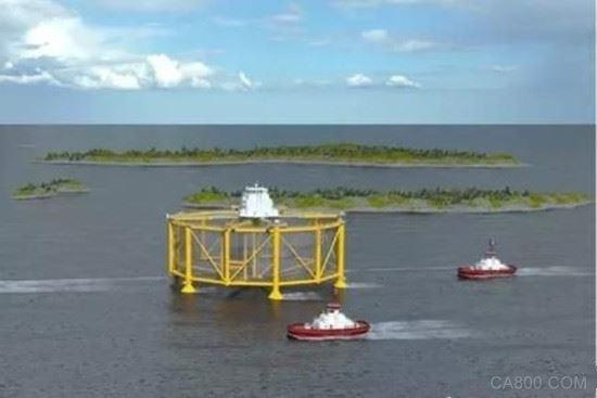 世界首座半潜式深海渔场诞生 配备了全球最先进的智能