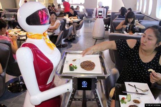机器人,餐饮服务应用