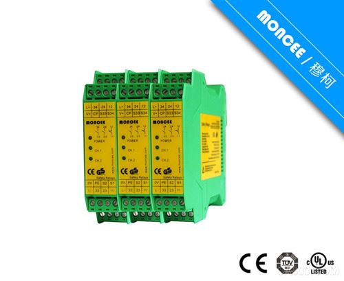 Safe optical curtain control device series SBC, SPC, SR
