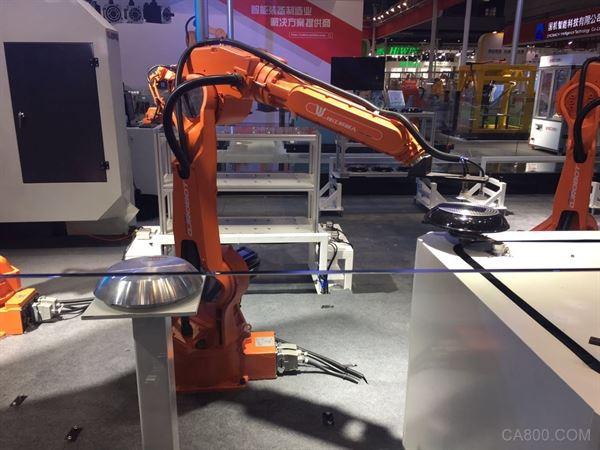 钱江机器人,QJRH4-1焊接机器人,CIROS 2017