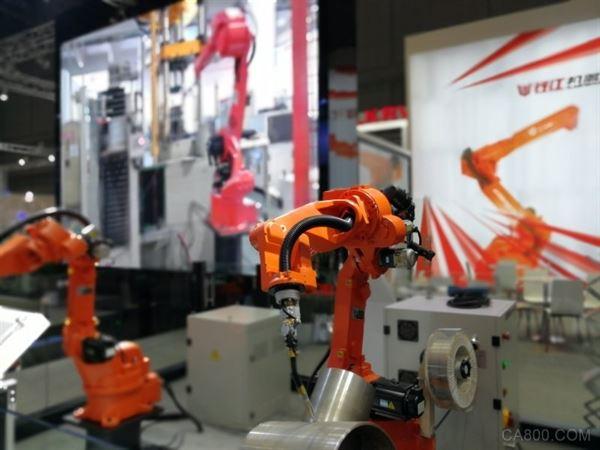 钱江机器人,QJRH4-1焊接机器人,CIROS,2017