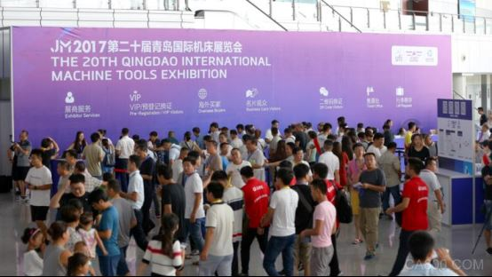 今天是2017青岛国际机床展开展首日,现场盛况已经充分说明了环