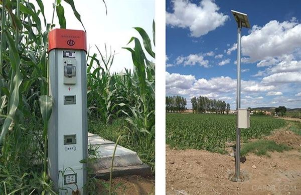 機井灌溉控制器在內蒙古、新疆兩地批量使用超過5000套             ——機井灌溉