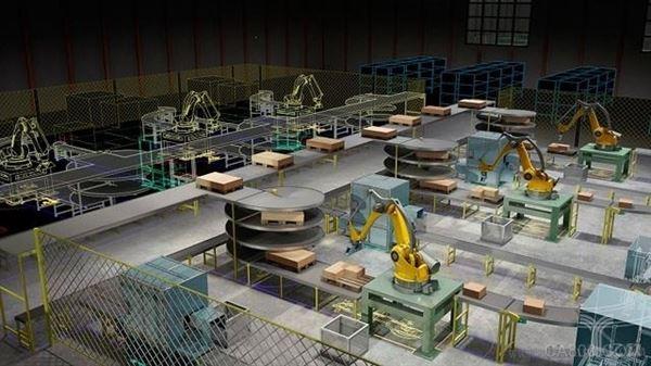 自动化,工厂,制造,智能