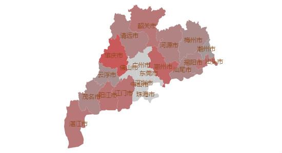 除广深莞佛中山珠海外广东工业自动化人才需求地区分布