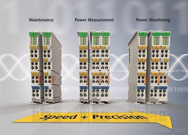 电源监测,端子模块,EtherCAT,能源管理