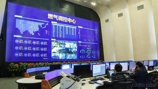 台达,山西国新天然气,激光DLP分布式大屏幕,显示系统
