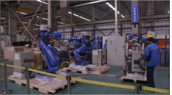 机器人,汽车,安川