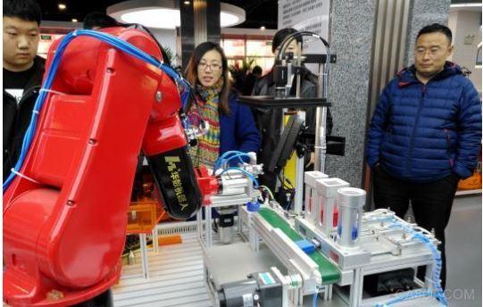 工业机器人,沈阳永安机床小镇