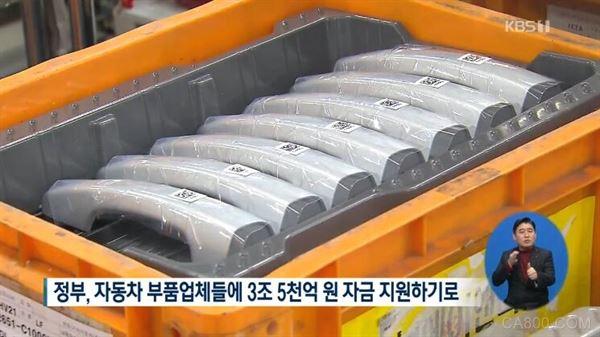 汽车零部件产业,韩国,资金援助
