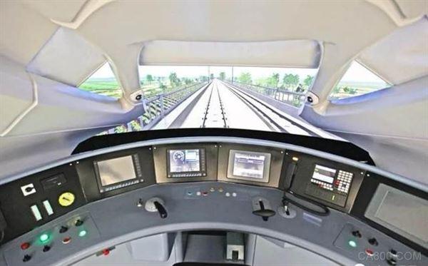 高铁列车自黑魔�p鬼动驾驶技术,350公里高铁列车