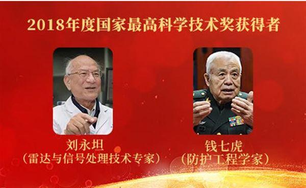 2018年国家最高科学技术奖获奖,刘永坦,钱七虎