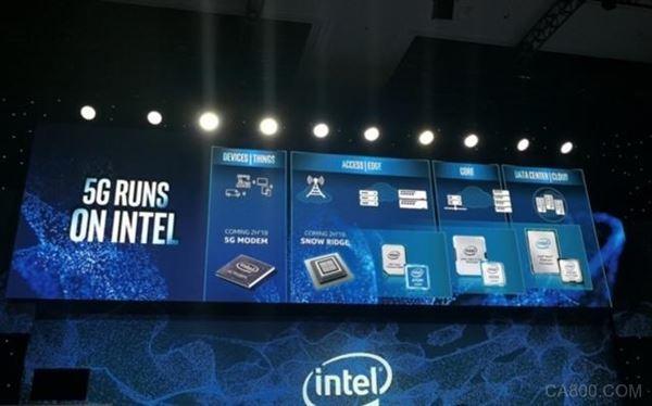 CES,英特尔,5G,3D立体封装处理器