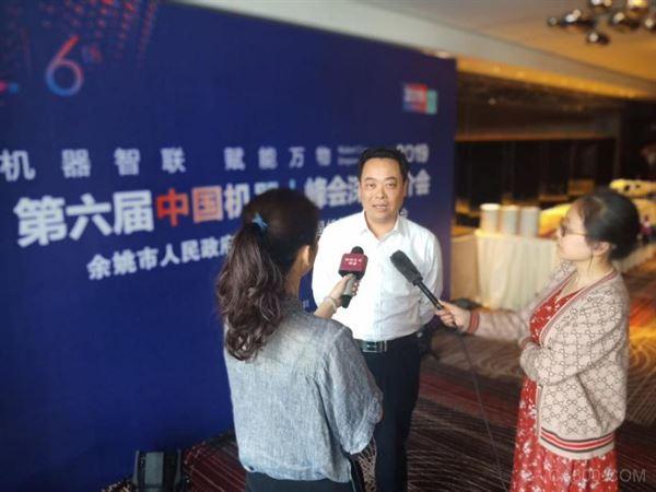 毛市长接受采访