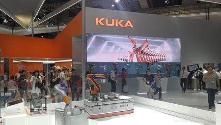 库卡,工业机器人,中国新增订单