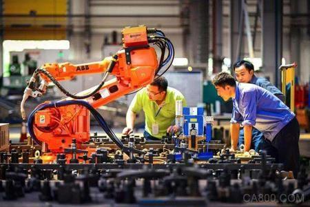 机器换人,工业机器人