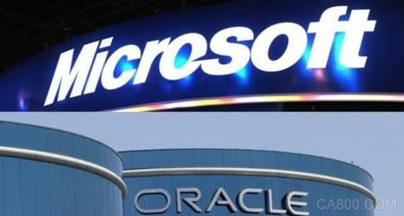 微软,甲骨文,亚马逊,云计算