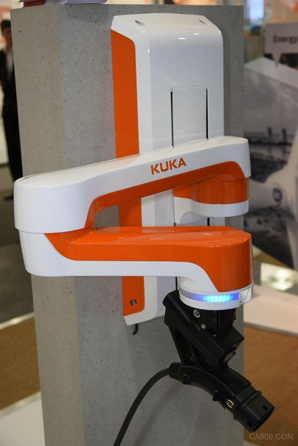 浩亭技术,电动汽车,KUKA自动充电助手